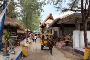 Gili T main street